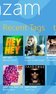 Shazam для Windows Phone