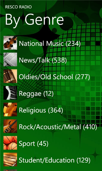 Скачать Resco Radio для Nokia Lumia 920