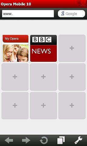 Скачать Opera Mobile для Q-Mobile Storm W410