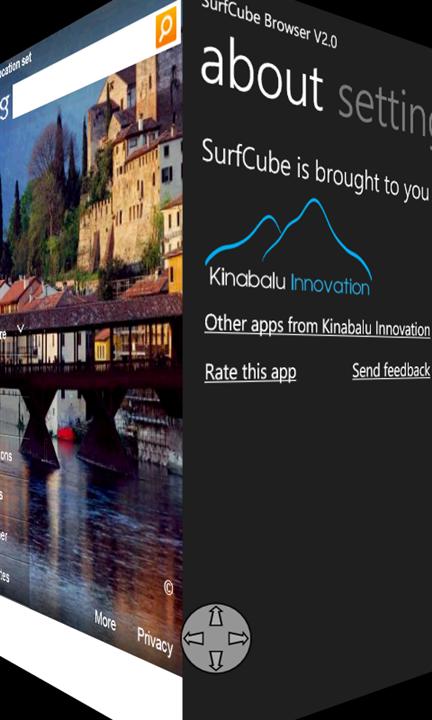 Скачать SurfCube 3D Browser для Nokia Lumia 505