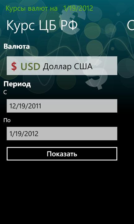 Котировки валют яндекс