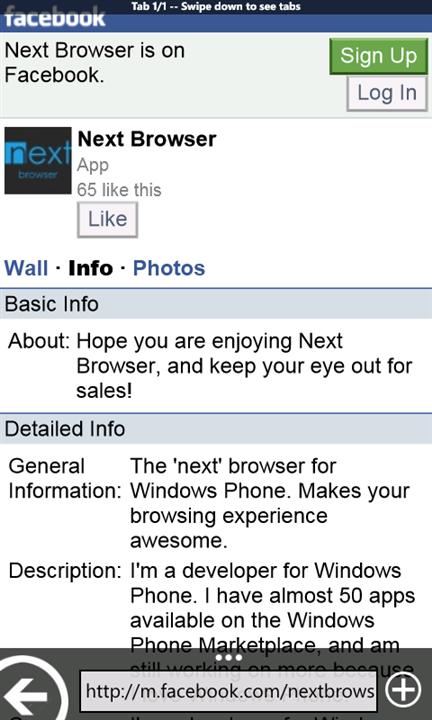 Скачать Next Browser для Xiaomi Mi4