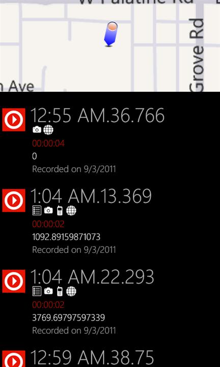 Pocket Recorder для Windows Phone