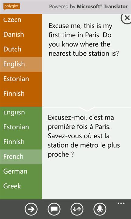 Скачать Polyglot для Nokia Lumia 1320