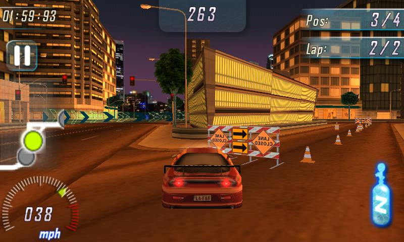 Fast and Furious Adrenaline для Windows Phone