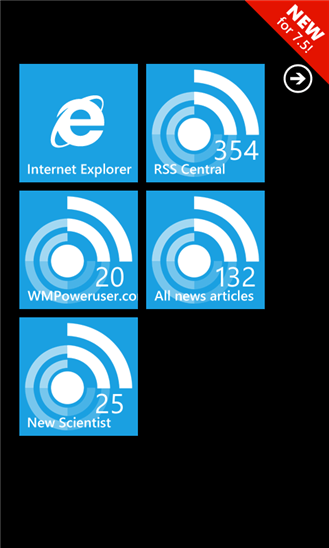 Скачать RSS Central для Microsoft Lumia 640