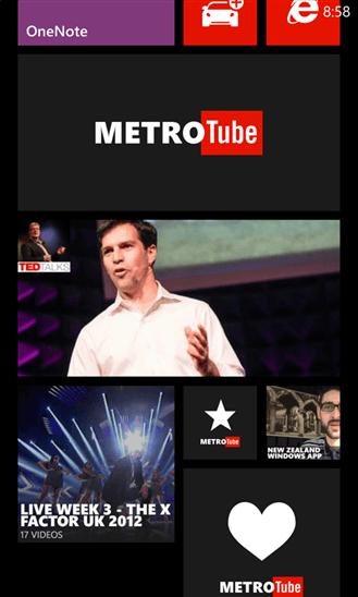 Скачать Metrotube для Microsoft Lumia 950