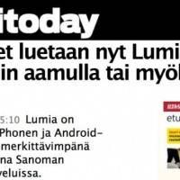 Трафик с Nokia Lumia обгоняет iPhone и Android
