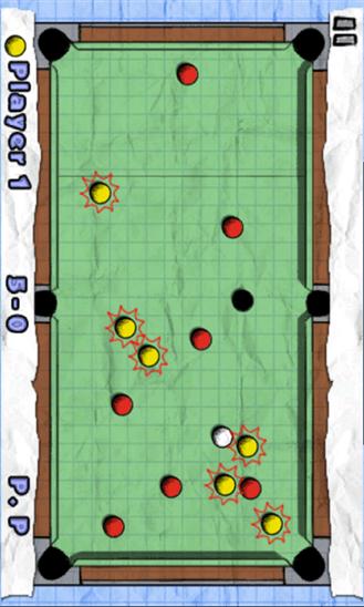 Doodle Pool для Windows Phone