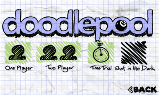 Doodle Pool для Windows Phone