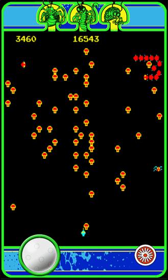 Game Room – Centipede для Windows Phone