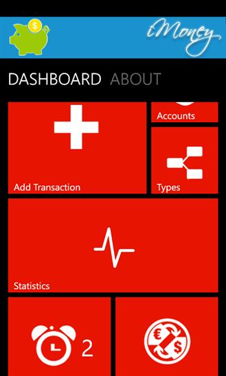 iMoney для Windows Phone