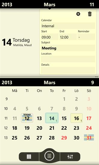 Скачать Chronos Calendar для Dell Venue Pro