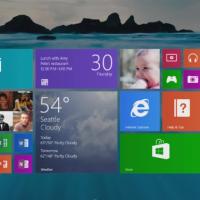 Microsoft демонстрирует нововведения в Windows 8.1