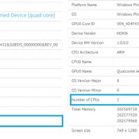 Первый четырехъядерный Nokia Lumia