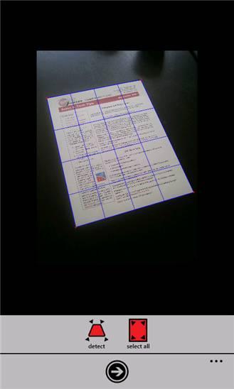 HD Scanner для Windows Phone