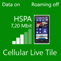 Cellular Live Tile для Alcatel POP 2 Windows