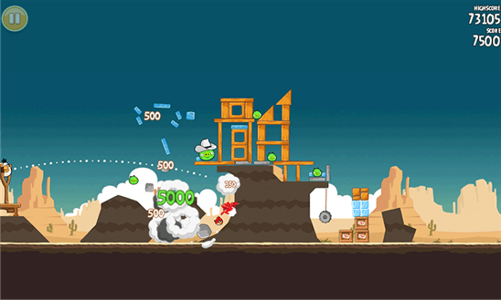 Angry Birds Classic для Windows Phone