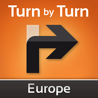 Turn by Turn Navigation Europe для Kazam Thunder 340W