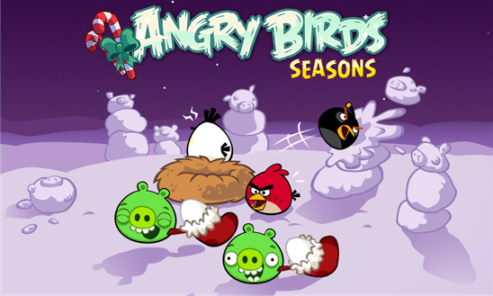 Angry Birds Seasons для Windows Phone