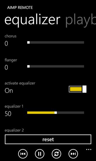 AIMP Remote для Windows Phone