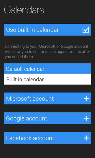 Скачать Cal для Microsoft Lumia 640 XL