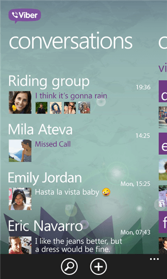 Viber для Windows Phone