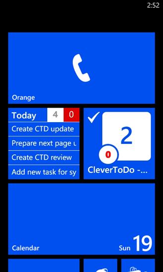 Скачать CleverToDo для Highscreen WinJoy
