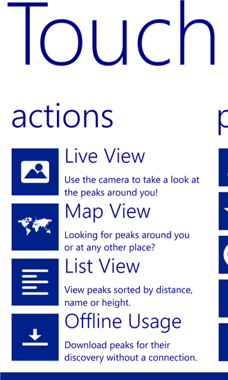 Скачать TouchMountain для Nokia Lumia 636
