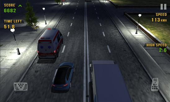 Скачать Traffic Racer для Samsung Focus S