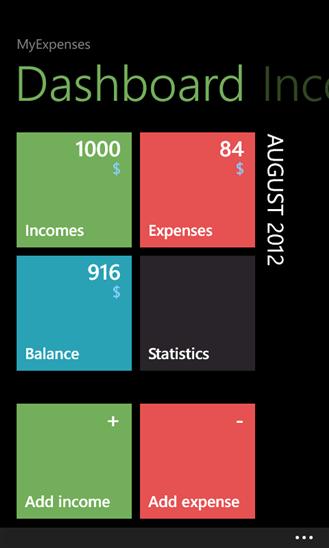 Скачать MyExpenses для Prestigio MultiPhone 8500 DUO