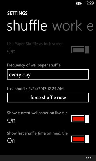 Скачать Paper Shuffle для Xiaomi Mi4