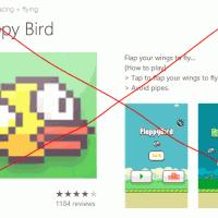 Клон Flappy Bird появился в магазине Windows Phone