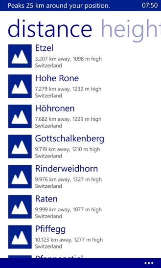 Скачать TouchMountain для Nokia Lumia 810