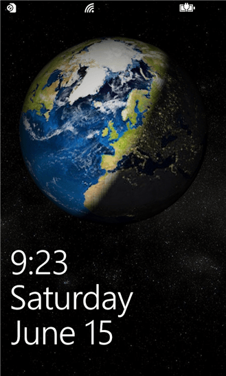 Скачать Earth Lock Screen для Dexp Ixion W 5