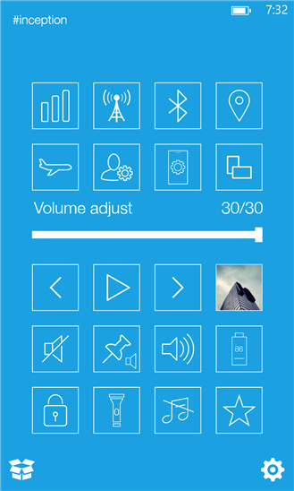 Скачать Quick Controls для Nokia Lumia Icon