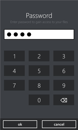 AirDrive для Windows Phone