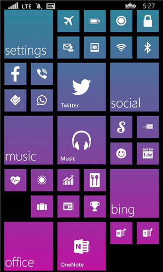 Start Perfect для Windows Phone