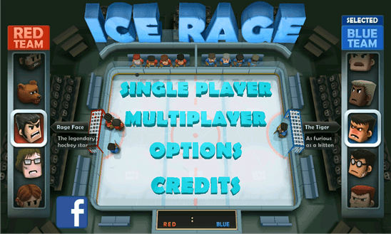 Ice Rage: Hockey для Windows Phone