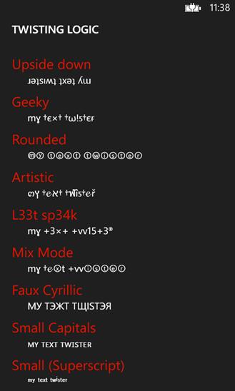 Скачать MyTextTwister Pro для Fly IQ400W ERA Windows