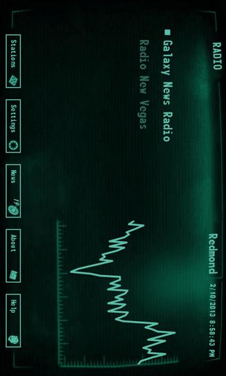 Скачать Pip-Boy Radio для Nokia Lumia 920