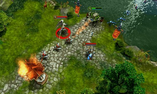 Heroes of Order & Chaos для Windows Phone