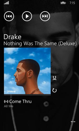Скачать Music Hub Tile для Nokia Lumia 710