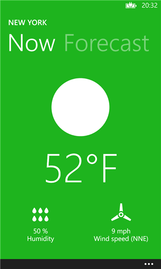 Color Weather для Windows Phone
