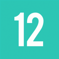 12 class logo