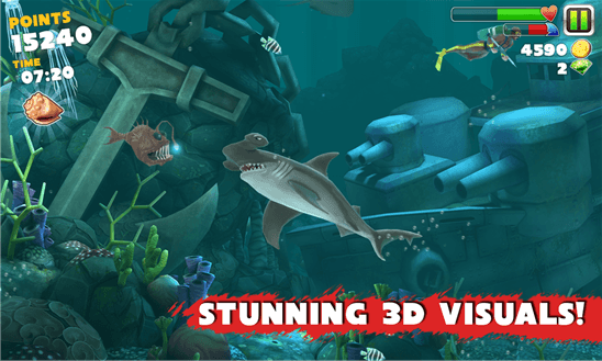 Hungry Shark Evolution к Windows Phone