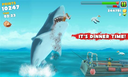 Hungry Shark Evolution для того Windows Phone