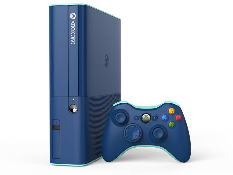 Xbox 360 Elite Wallpapers blue xbox 360 console