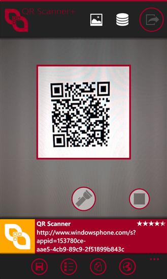 Скачать QR Scanner+ для Nokia Lumia 525