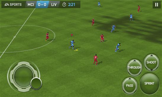 Скачать FIFA 15: UT для Nokia Lumia 510
